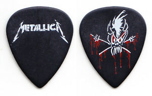 Metallica Scary Guy Black Ultex Guitar Pick - 2012 Tour