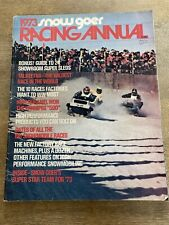 New Listing1973 Snow Goer snowmobile Racing Annual magazine Apres Racing Hurley Wisconsin