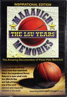 Maravich Memories LSU Years Inspirational Edition NEW DVD Pistol Pete Maravich