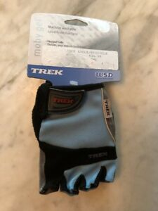 NOS WSD Trek Moby Gel Gloves Small Light Blue