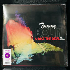 TOMMY BOLIN - SHAKE THE DEVIL The Lost Sessions Purple Vinyl LP