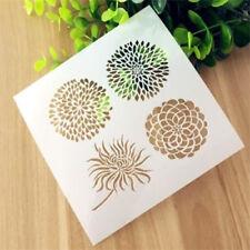 Flower Flora Pattern Layering Stencil Template DIY Scrapbooking Home Decorate