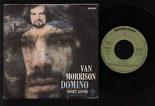 "7"" VAN MORRISON DOMINO / SWEET JANNIE MADE IN ITALY 1971 BLUES ROCK WARNER BROS."