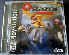 Razor Racing [PlayStation] Black Label New Factory Sealed 1-2 players Cravegames