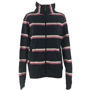 Hazy Blue Womens Anita Full Zip Jacket Sweatshirt