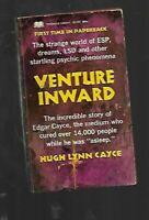 PB - Hugh Lynn Cayce VENTURE INWARD Psychic LSD ESP VINTAGE 1967 1st Edition