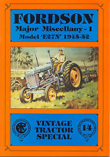 Fordson Major Miscellany - 1 Model 'E27N' 1945-52, Special 14