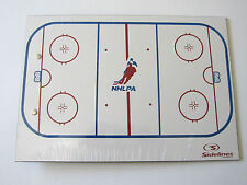 "NHLPA Dry Erase Hockey Coaching Board! 9"" X 13"" Free Whiteboard Marker NHL"