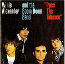 Willie Alexander & The Boom Boom Band, Pass The Tabasco,Willie Loco OOP IMPORT