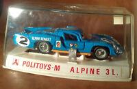 Politoys-M - ref.598 1:43 scale diecast - Alpine Renault 3L - NIB