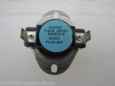 626552 Fan switch. Miller/Nordyne/Intertherm/Broan/Maytag 626552R