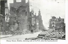 More details for dublin irish political. henry street & gpo after bombardment by coleman's.