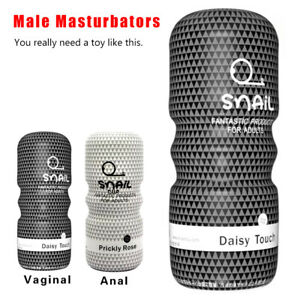 DEEP SUCKING Male Masturbators Pocket Pussy Vagina Stroker Cup SEX TOY FOR MEN