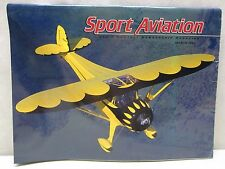 Sport Aviation Magazine March 1996 Airplane Aircraft Symmes Clipwing Monocoupe