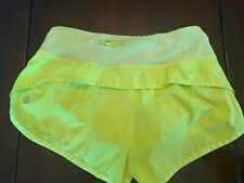 Lululemon Speed Short size 2 Ray 2.5in summer green VGUC