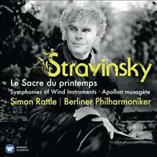 Sir Simon Rattle / BERLINER PHIL - STRAVINSKY : Le Sacre Du Printe NOUVEAU CD