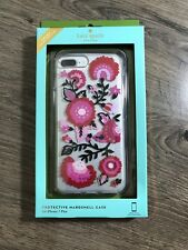 Kate spade New York  Clear Jeweled garland iPhone 7 plus and 8 plus cover case