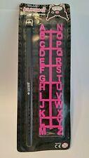 Mensaje De Pulsera Personalizado De Kuromi Con 2 X Letras A-Z