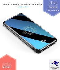 *NEW2020* 3in1 QI 18W PD fast Wireless Powerbank 10w + 3.0 Quick Charge 10000mAh