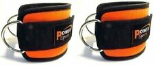 ORANGE Power Sports Ankle Strap Multi Gym FOR  EXT Cable Machine 1 PAIR