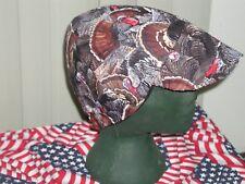 Wild Turkey Hunter: Red's American Made: Welding Hat Biker Cap $7.50 each