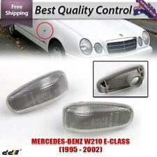 1 PAIRS Mercedes Benz W208 W210 R170 Side Blinker Light MARKER Turn Signals Lamp