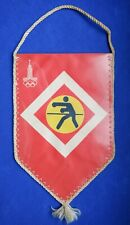 1980 Boxing Pennant Emblem XXII Olympic Games Moscow 80 Vintage USSR ☭