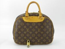 Louis Vuitton Hand Bag Trouville M42228 Browns Monogram F/S From Japan #DC212e