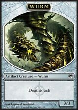 MRM FRENCH Token - Jeton Wurm deathtouch - Guivre contact mortel 3/3 MTG SOM