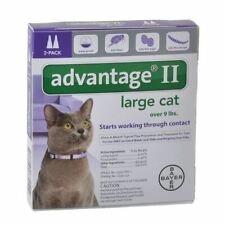 Advantage Flea Control for Cats and Kittens Over 9 lbs 2 Month Supply