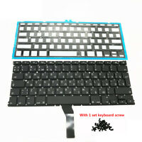 "Russian Keyboard with Backlight For Macbook Air 13"" A1369 2011 A1466 2011-2015"