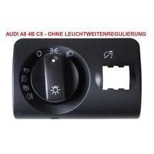 Audi A6 4B C5 Avant (Bj 02-05) Reparatursatz Lichtschalter Abdeckung OHNE LWR