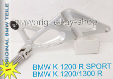 BMW  K 1200 R, K 1300 R, Sport (K40+K43) Fussrastenplatte hiten rechts