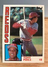 1984 TOPPS TRADED #91T TONY PEREZ - REDS