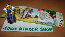 KINDER DE098 DE 98 ASTERIX 50 KLEOPATRA CLEOPATRE + BPZ FRANCE
