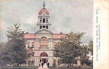 Michigan postcard St. Joseph Berrien County Court House 1908