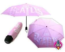 NEW CLASSIC THE BEATLES PINK LOGO AUTO FOLDING UMBRELLA OFFICIAL APPLE PRODUCT