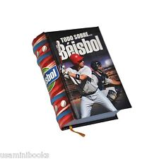 new miniature book Todo Sobre el Beisbol Hardcover Baseball 431 pages