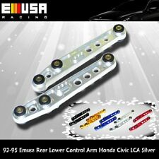 94-01 Acura Integra EMUSA Rear Lower Control Arm Honda Civic Silver