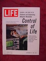 LIFE September 10 1965 SENTA BERGER ROSALIND RUSSELL ++