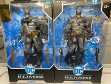 2 DC Multiverse Batman Todd McFarlane Designed 7? Figures Toys In Hand New 2021