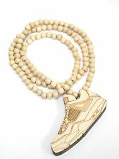New Hip-hop fashion good wood nyc Necklace ( Jordan IV )