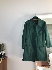 London Fog Hunter Green Coat Size 10
