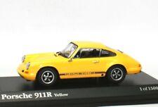 Porsche 911R 911 R 1967 - gelb yellow jaune giallo geel - Kyosho S001004 1:43