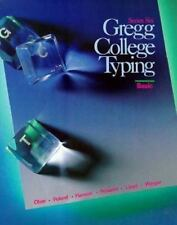 Gregg College Typing: Series Six Basic