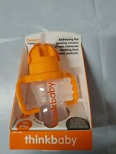 Thinkbaby Toddler Straw Cup Orange Sorbet (24E)