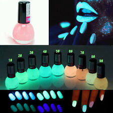Lot of 24pcs Colors Luminous Neon Glow In the Dark Varnish Nail Polish Manicure