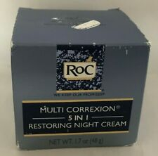 RoC Multi Correxion 5 in 1 Restoring Facial Night Cream w/ Hexinol 1.7 oz (48g)