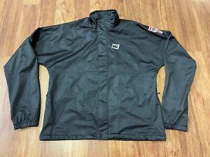 SMALL - Vtg Nike International Unlined Full Zip Jacket Black