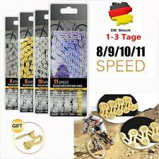 Teile Fahrradkette Zubehör Set MTB Edelstahl 8//9//10//11//12-fach Radsport